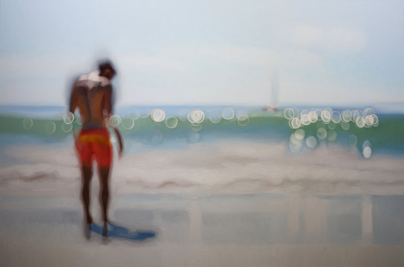 painter philip barlow captures what the world looks like to people with blurry vision 3 Painter Captures What the World Looks Like to People With Blurry Vision