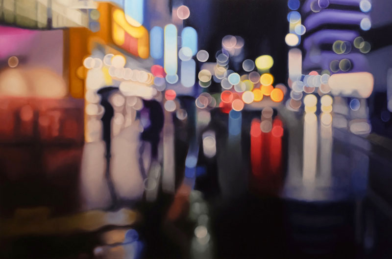 painter philip barlow captures what the world looks like to people with blurry vision 5 Painter Captures What the World Looks Like to People With Blurry Vision