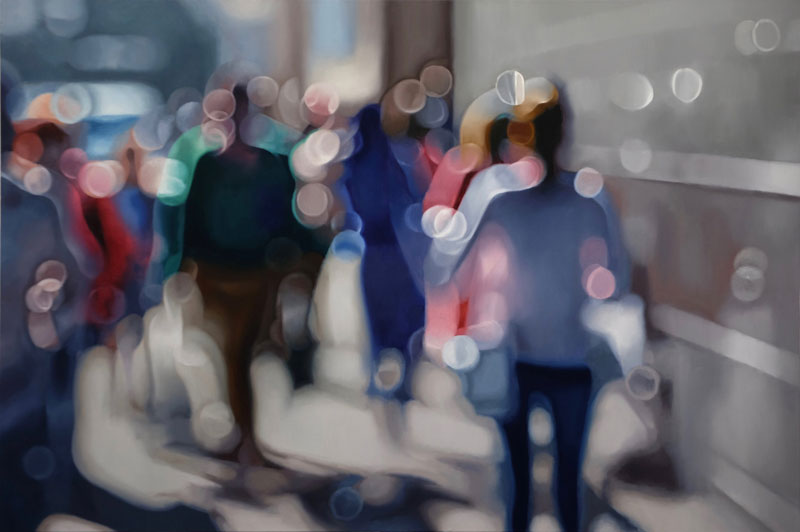 painter philip barlow captures what the world looks like to people with blurry vision 6 Painter Captures What the World Looks Like to People With Blurry Vision
