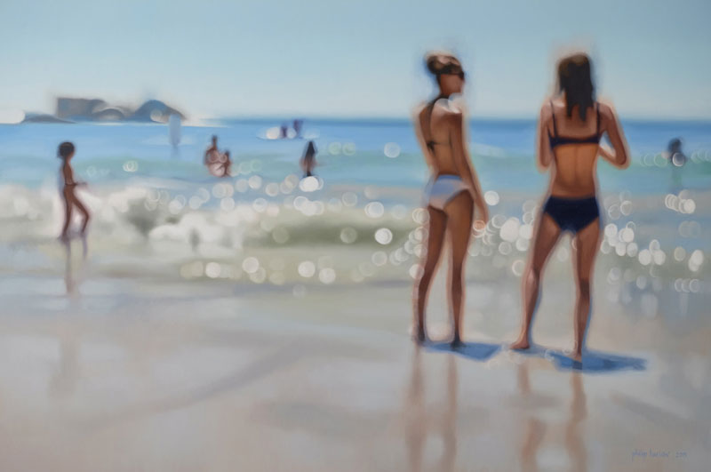 painter philip barlow captures what the world looks like to people with blurry vision 7 Painter Captures What the World Looks Like to People With Blurry Vision