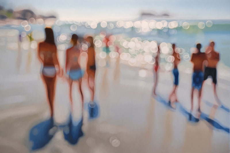 painter philip barlow captures what the world looks like to people with blurry vision 8 Painter Captures What the World Looks Like to People With Blurry Vision