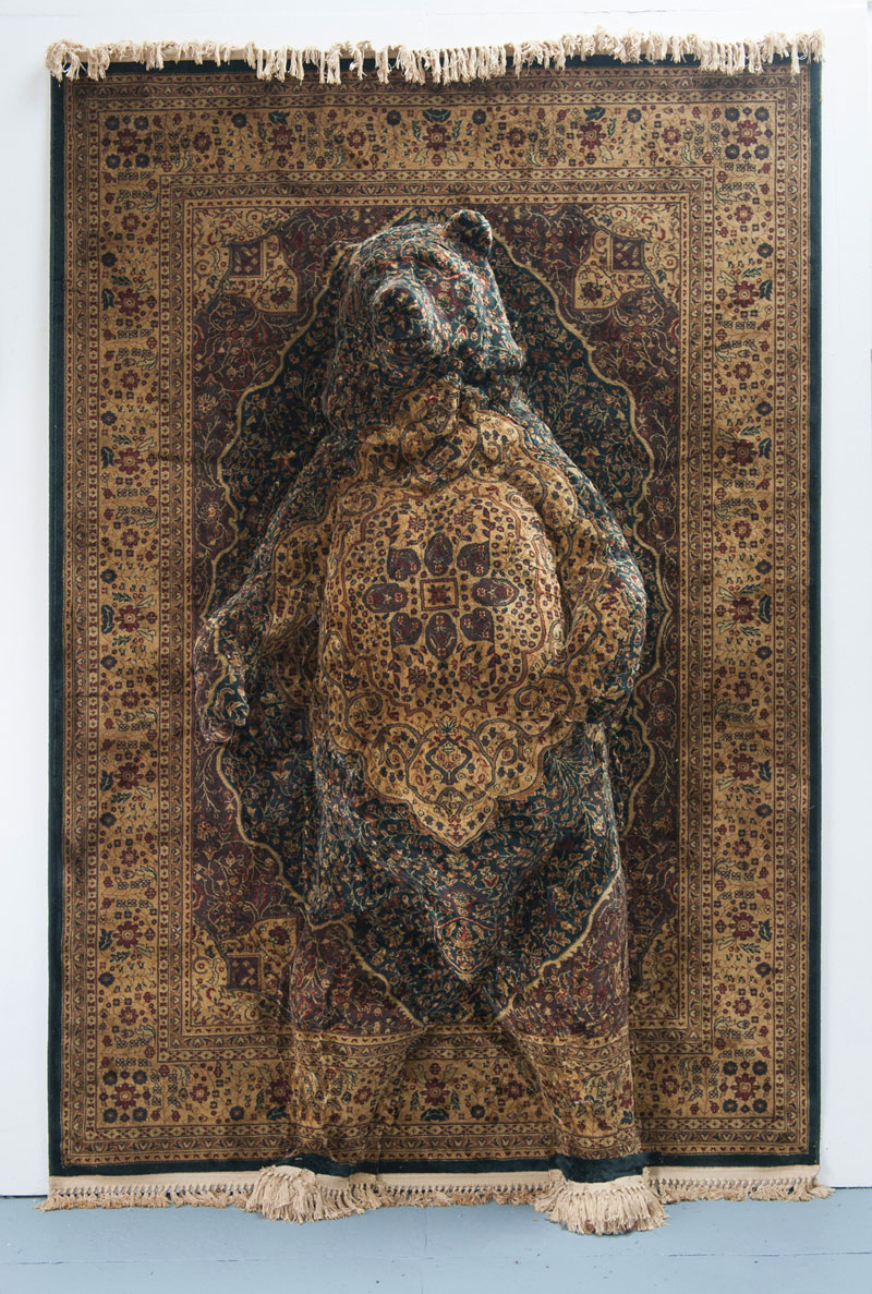 persian bear rugs by debbie lawson 1 These Persian Bear Rugs Are Awesome and I Want Them