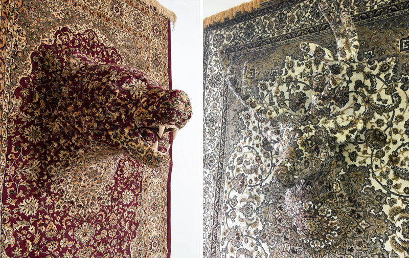 persian bear rugs by debbie lawson 2 These Persian Bear Rugs Are Awesome and I Want Them