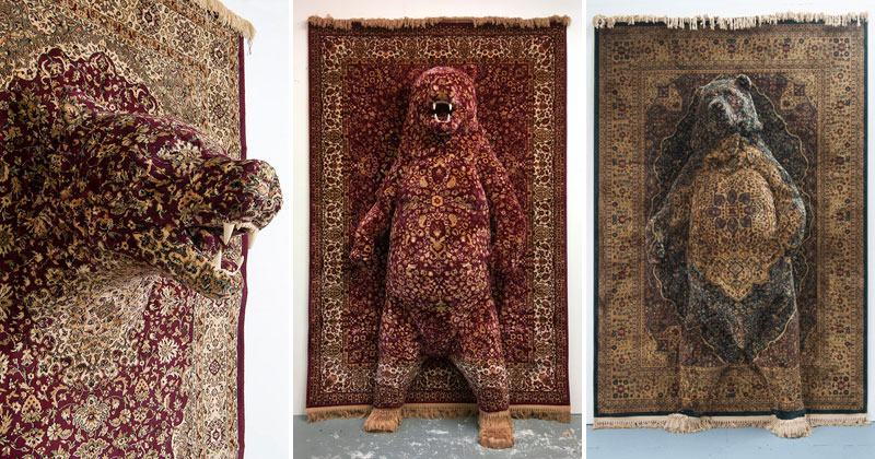 These Persian Bear Rugs Are Awesome and I WantThem