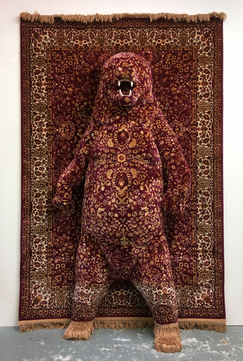 persian bear rugs by debbie lawson 5 These Persian Bear Rugs Are Awesome and I Want Them