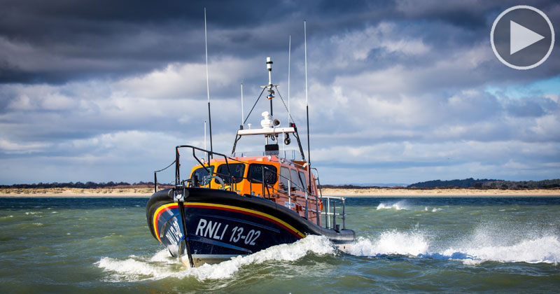 The RNLI's Newest All-Weather Lifeboat is an Engineering Marvel