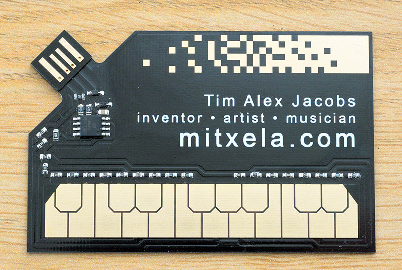 stylophone business card by tim alex jacobs mixtela 8 This Guy Made a Stylophone Business Card That Creates Electronic Music