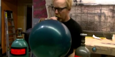 Adam Savage on the Highs and Lows of Helium and Sulfur Hexafluoride
