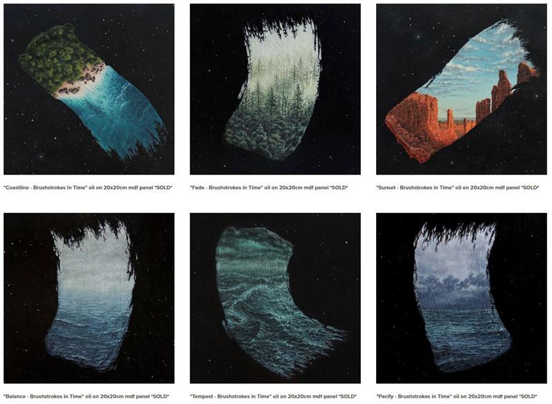 brushstrokes in time by david ambarzumjan 2 Brushstrokes in Time by David Ambarzumjan