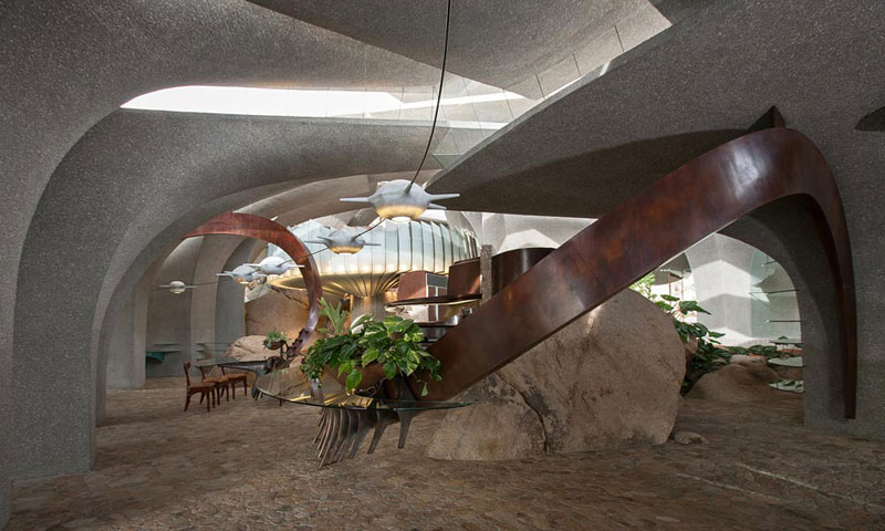 desert house by ken kellogg john vugrin 14 This Organic Desert House in Joshua Tree, CA is at One With Its Environment