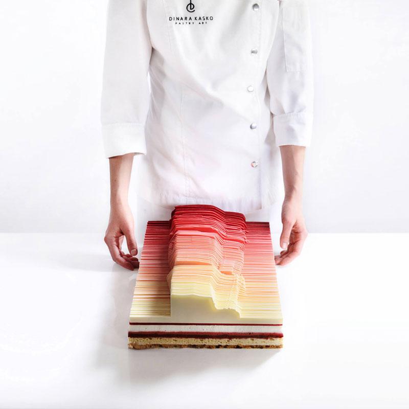 dinara kasko cake art 12 Dinara Kasko Continues to Push the Boundaries of Pastry Design (21 Photos)