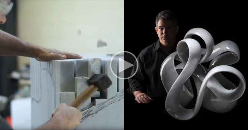 The Incredible Process of Turning a Block of Marble Into a Work ofArt