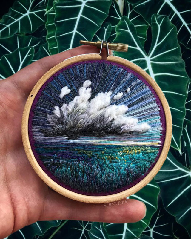 needle painting embroidery by vera shimunia 14 The Amazing Needle Painting of Vera Shimunia (15 Photos)