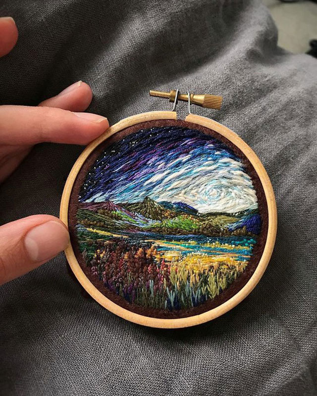 needle painting embroidery by vera shimunia 15 The Amazing Needle Painting of Vera Shimunia (15 Photos)