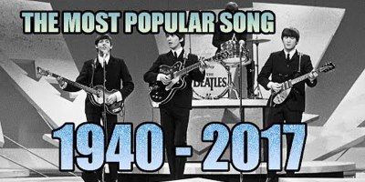 The Most Popular Song of Each Year (1940-2017)