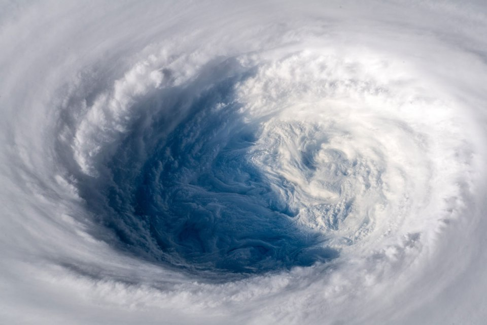 typhoon trami from space by alexander gerst 1 Alexander Gerst Captured Some Incredible Shots of Typhoon Trami from Space