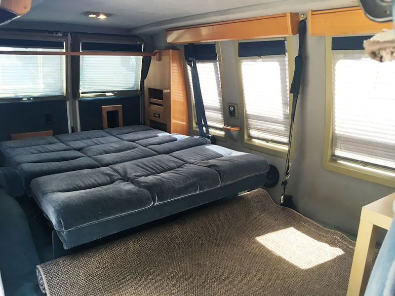 airbnb van new york soho 11 If Youre Going to New York You Can Rent This Van in Soho on Airbnb