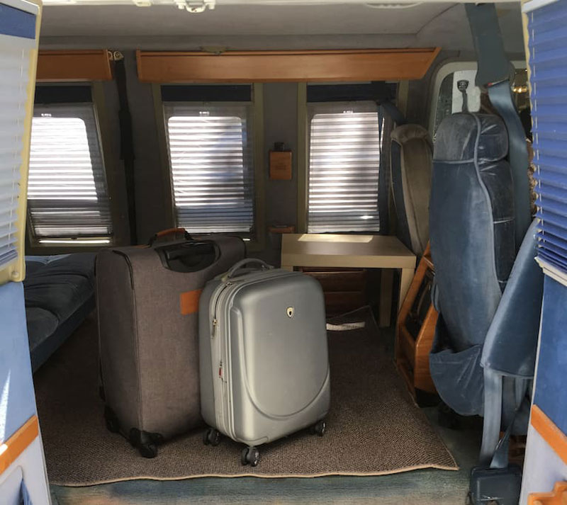 airbnb van new york soho 2 If Youre Going to New York You Can Rent This Van in Soho on Airbnb