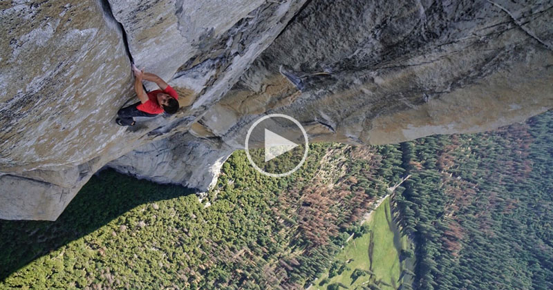 This 360 Video is as Close As You'll Ever Get to Free-Soloing El Capitan