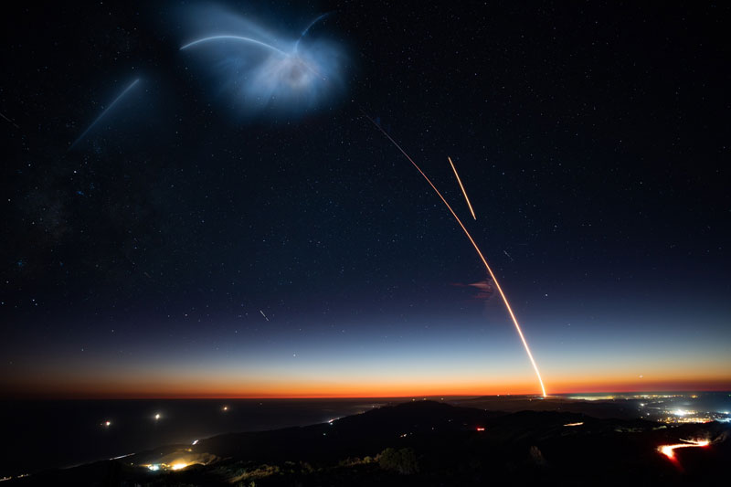 best photos vids and timelapses from spacex launch over la 8 The Best Photos, Videos, and Timelapses from SpaceXs Launch Over LA