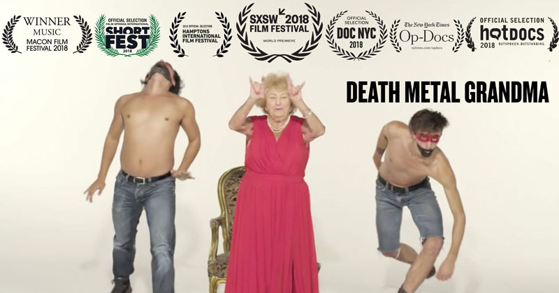 A New York Times Short About a 96-Year-Old Death Metal Grandma