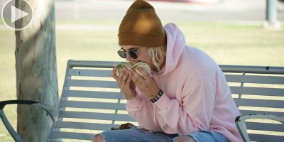 Pranking the Media with a Photo of Justin Bieber Eating a Burrito Sideways