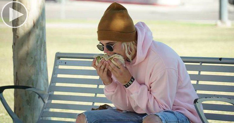 Pranking the Media with a Photo of Justin Bieber Eating a BurritoSideways