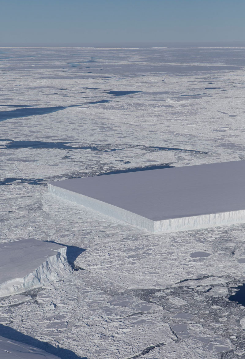 perfectly rectangular iceberg nasa NASA Scientists Find Perfectly Rectangular Iceberg in Antarctica