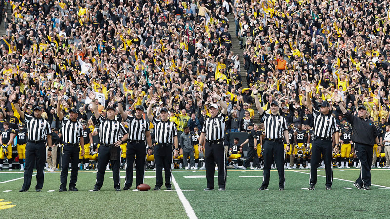 wave to the brave the amazing tradition at every iowa home game 4 Wave to the Brave: The Amazing Tradition at Every Iowa Home Game