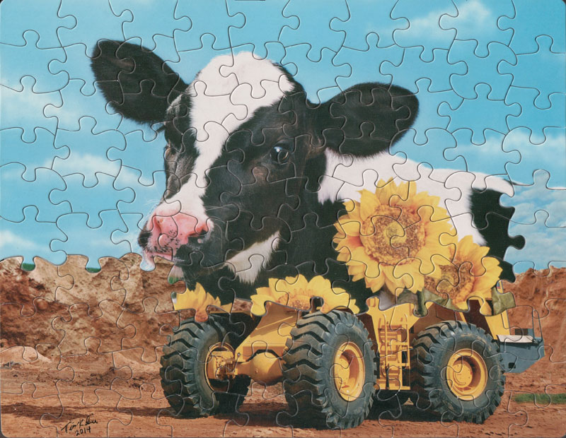 jigsaw puzzle mashups by tim klein 3 Jigsaw Puzzle Mashups by Tim Klein (9 Photos)