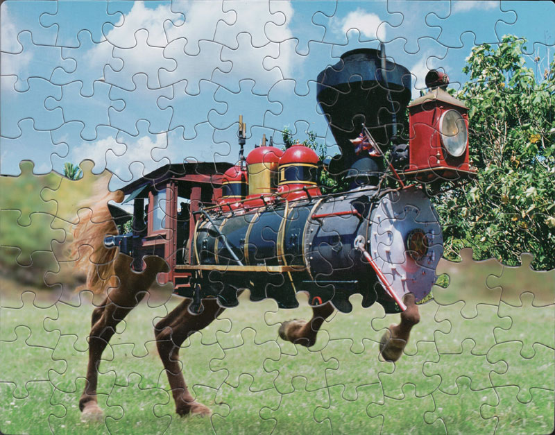 jigsaw puzzle mashups by tim klein 4 Jigsaw Puzzle Mashups by Tim Klein (9 Photos)