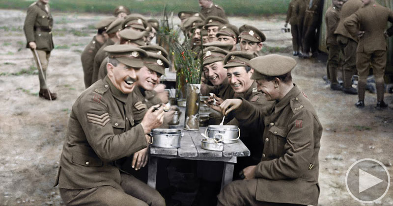 Peter Jackson's Restored and Colorized WW1 Film is Unlike Anything I'veSeen