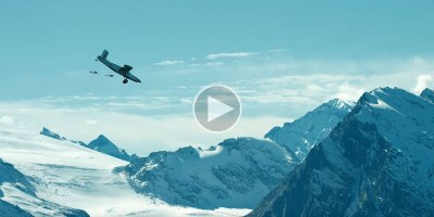 BASE Jumping Into an Airplane Looks as Crazy as itSounds