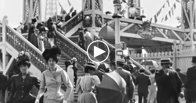 Fascinating Video Footage of Daily Life in Paris in the 1890s