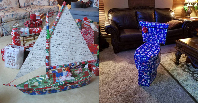 People Disguising Their Christmas Gifts Is My New Favorite