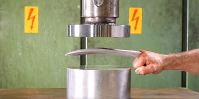 Hydraulic Press vs Adamantium Claws