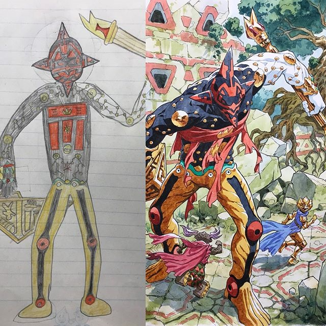 thomas romain illustrates his kids drawings 26 Animator Dad Illustrates His Kids Drawings and Everything is Awesome