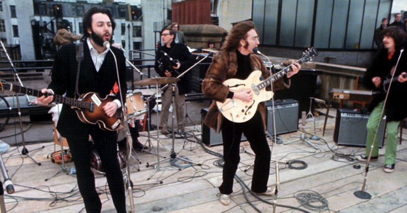 50 Years Ago The Beatles Played Their Last Live Gig on a Roof in SavileRow