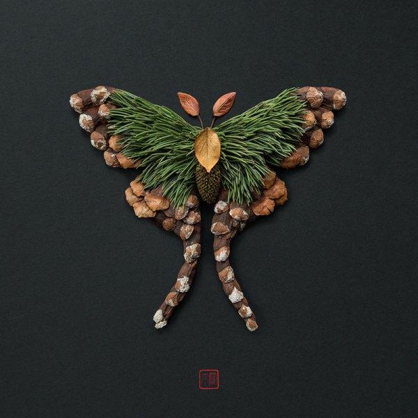 animal portraits made from flowers raku inoue 10 When Kingdoms Collide: Animal Portraits Made from Floral Arrangements
