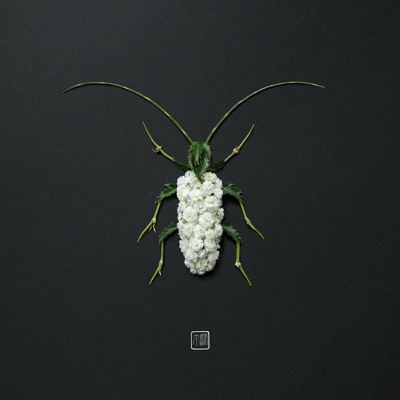 animal portraits made from flowers raku inoue 4 When Kingdoms Collide: Animal Portraits Made from Floral Arrangements
