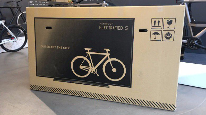 Dutch Bike Company Puts TV on Packaging, Reduces Shipping Damage80%
