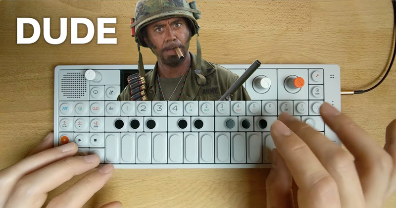 Watch This Guy Make a Chill Lofi Beat From a Tropic Thunder Sample