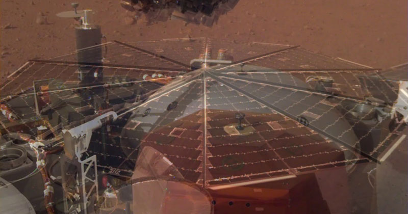 Mars Lander Captures Haunting Sound of Martian Winds