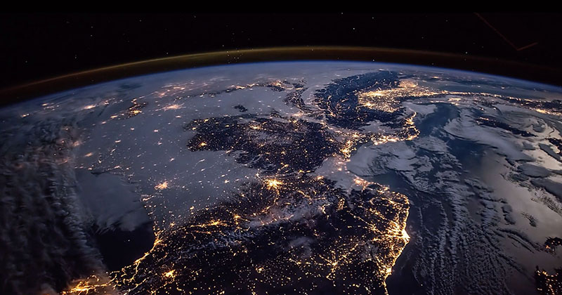 World picture from space