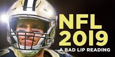 A Bad Lip Reading of the 2018-2019 NFL Season
