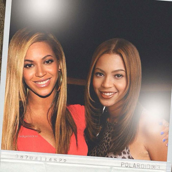 celebs with their younger self42 55 Photos of Celebs Hanging With Their Younger Selves