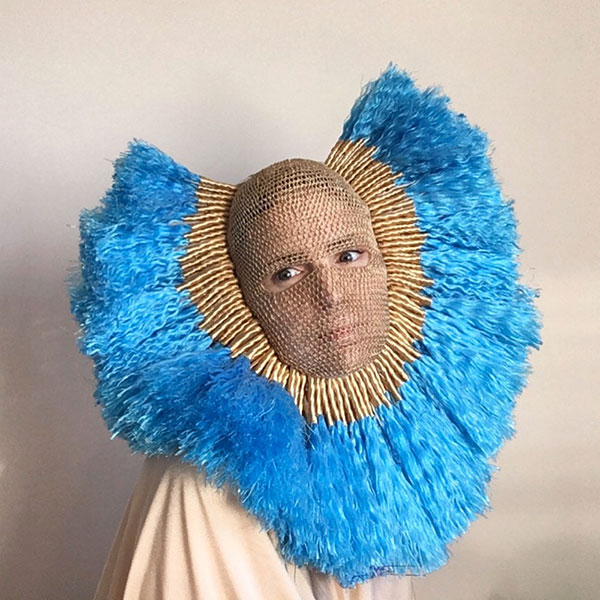 crochet masks by threadstories 11 Artist Crochets Balaclavas, Then Turns Them Into Wild Masks With Yarn