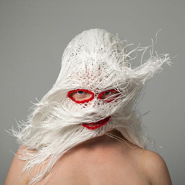 crochet masks by threadstories 14 Artist Crochets Balaclavas, Then Turns Them Into Wild Masks With Yarn