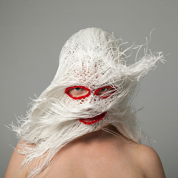 crochet masks by threadstories 14 Artist Crochets Balaclavas, Then Turns Them Into Wild Masks With Yarn