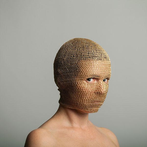 crochet masks by threadstories 7 Artist Crochets Balaclavas, Then Turns Them Into Wild Masks With Yarn